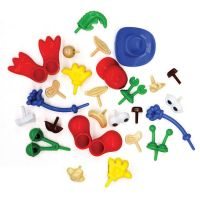 Creativity Street® Modeling Dough and Clay Body Parts Accessories
