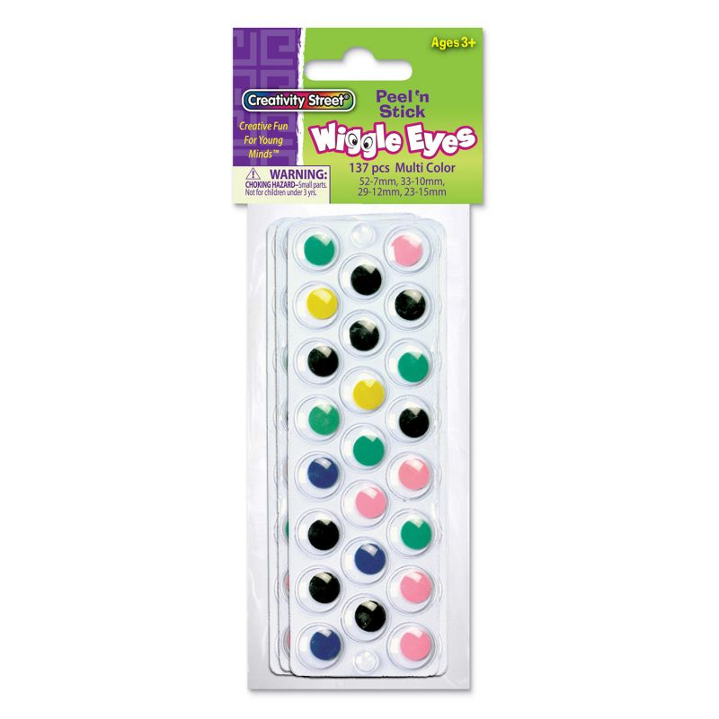 Creativity Street® Peel & Stick Wiggle Eyes