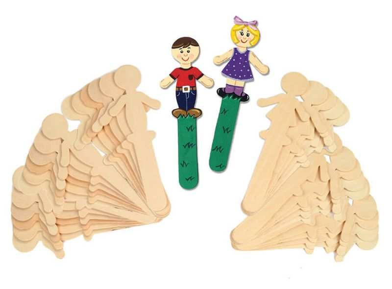 Creativity Street® Natural Wood Craft Sticks
