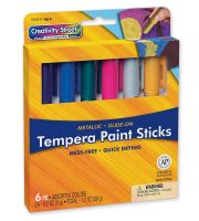 Creativity Street® Glide-On Tempera Paint Sticks